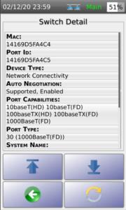 Switch Detail LLDP 1